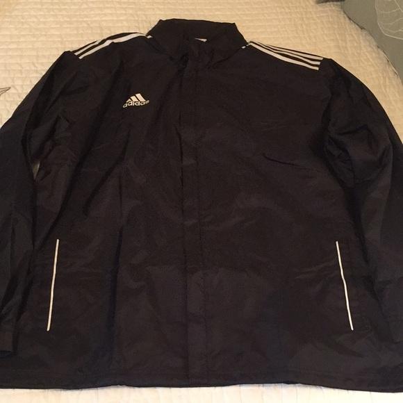 2b41c53ff8ad Adidas rain jacket NWT Black XXL